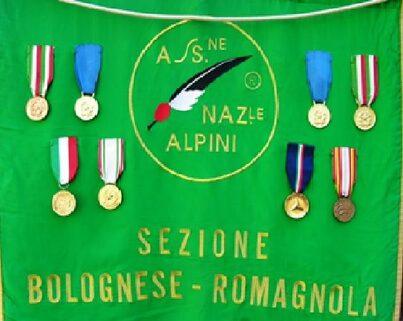 IL VESSILLO DELLA SEZIONE BOLOGNESE-ROMAGNOLA -ANGELO MANARESI