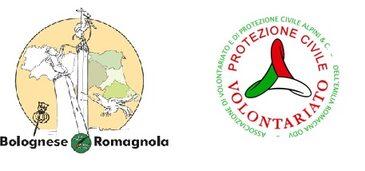 logo della Sezione  e logo della ODV